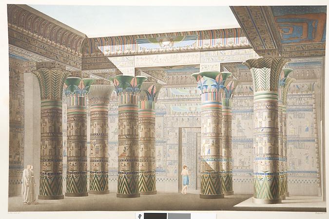Attention trésors ! La Description de l'Egypte |