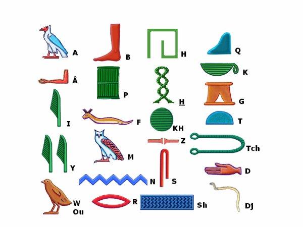 Atelier Hiéroglyphes  